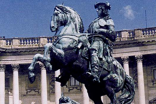 Памятник принцу Евгению Савойскому на Хельденплац, Вена