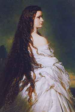 Портрет императрицы Елизаветы («Сисси») кисти Франца Ксавье Винтерхальтера